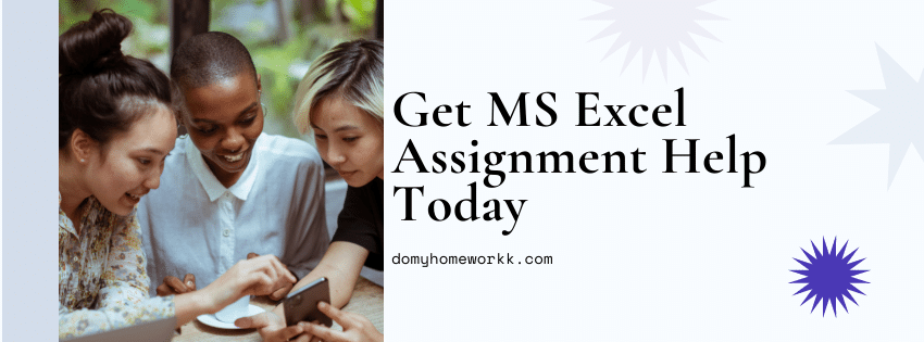 Do My Excel Assignment – MS Excel Homework Help